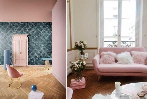 Millennial Pink na decoração 014