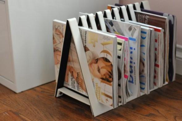 DIY - Porta revistas artesanal 001