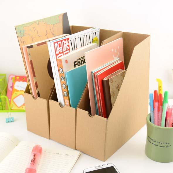 DIY - Porta revistas artesanal 006
