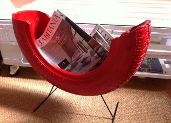 DIY - Porta revistas artesanal 007