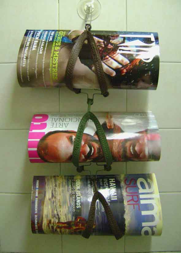 DIY - Porta revistas artesanal 011