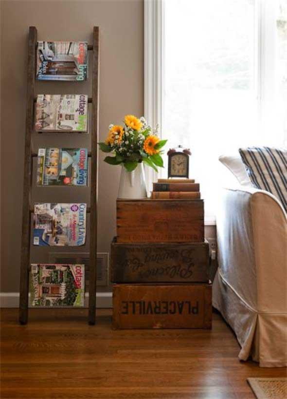 DIY - Porta revistas artesanal 017