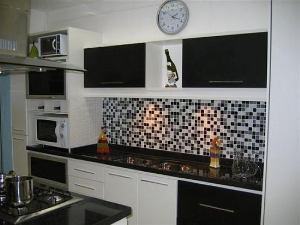 Dicas para decorar cozinhas preto e branco 003