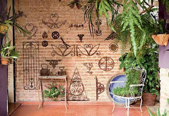 Ideias para usar grades na decoração 015