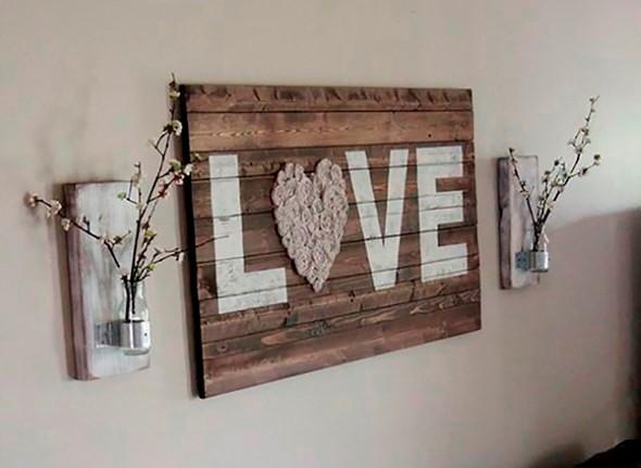 Sobras de madeira na decoração 001