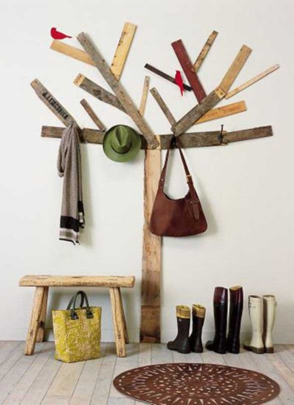 Sobras de madeira na decoração 002