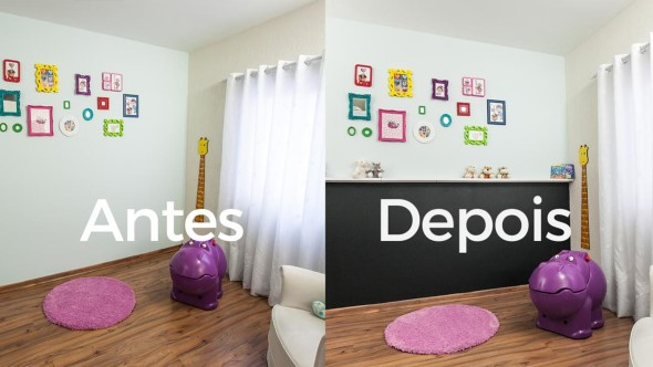 Usar tinta lousa na decoração do quarto 004