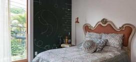 Como pintar o quarto com tinta lousa
