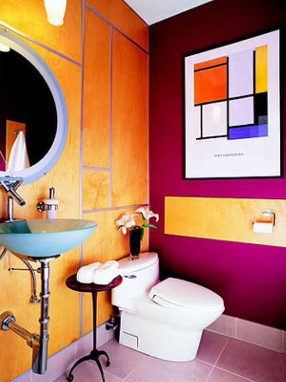 Dicas de decoração com quadros coloridos 014