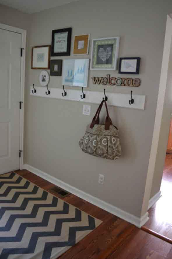 Economize espaço em casa pendurando objetos 006