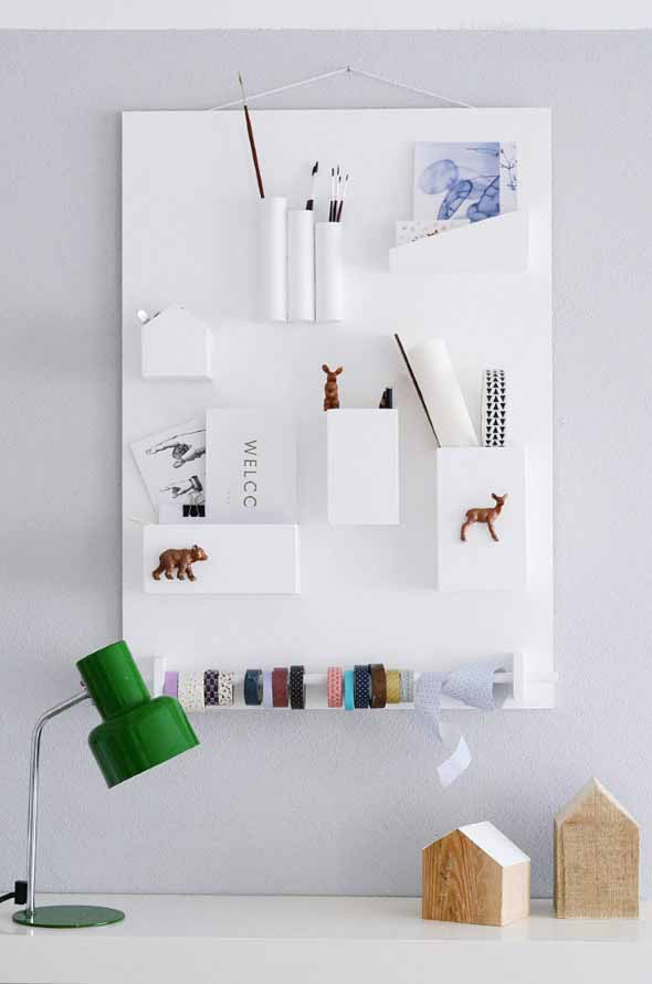 Economize espaço em casa pendurando objetos 014