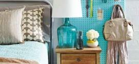 Economize espaço em casa pendurando objetos