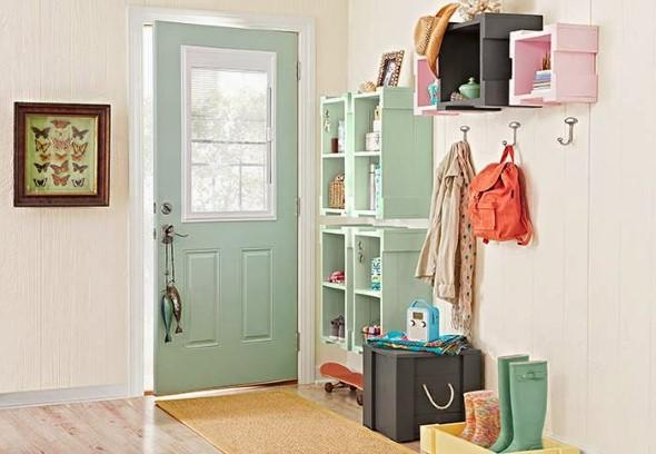 Economize espaço em casa pendurando objetos 018