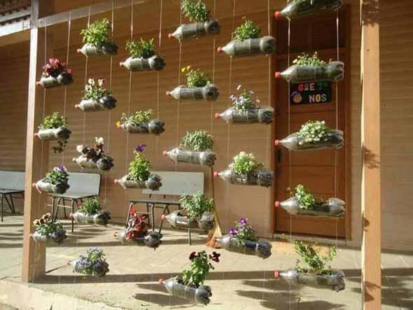 Jardim vertical no corredor 011