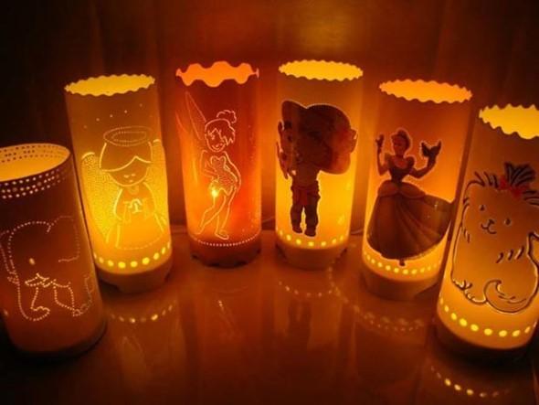 Luminárias de PVC 008