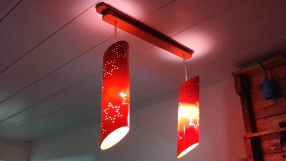 Luminárias de PVC 010