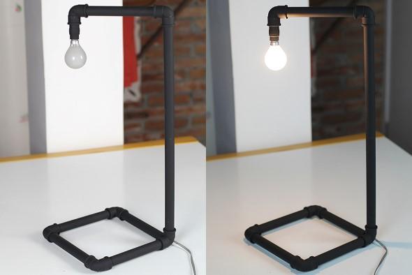 Luminárias de PVC 013