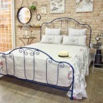Modelos de camas com visual rústico 007