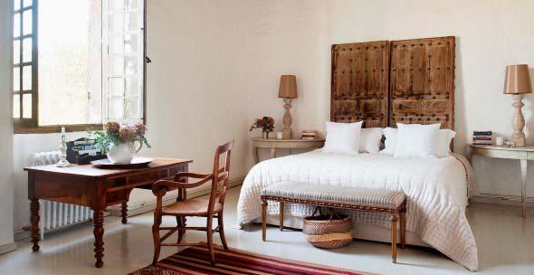 Modelos de camas com visual rústico 016