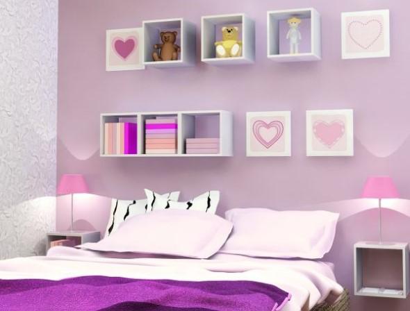 Modelos de nichos na decoração do quarto 002