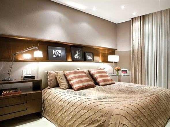 Modelos de nichos na decoração do quarto 009