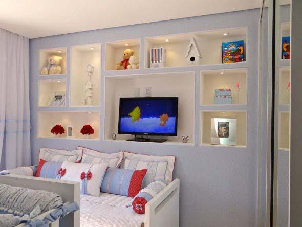 Modelos de nichos na decoração do quarto 012