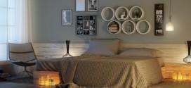 Modelos de nichos na decoração do quarto