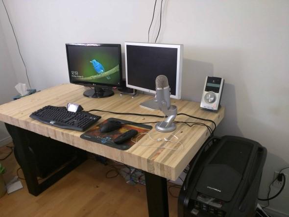 Monte seu home Office com paletes 012