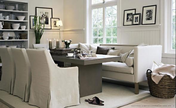 Poltronas e sofás na sala de jantar 018