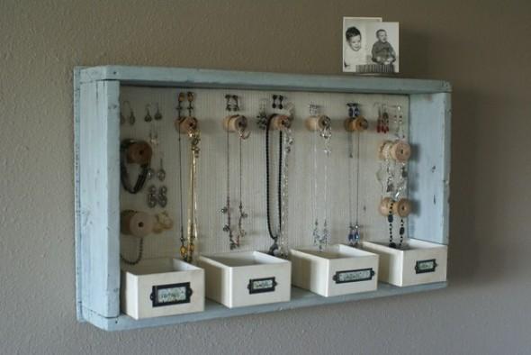 Como organizar joias e bijuterias em casa 001