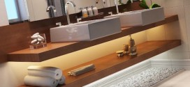 Modelos de armários e gabinetes para banheiro