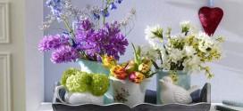 Decorar a casa com flores