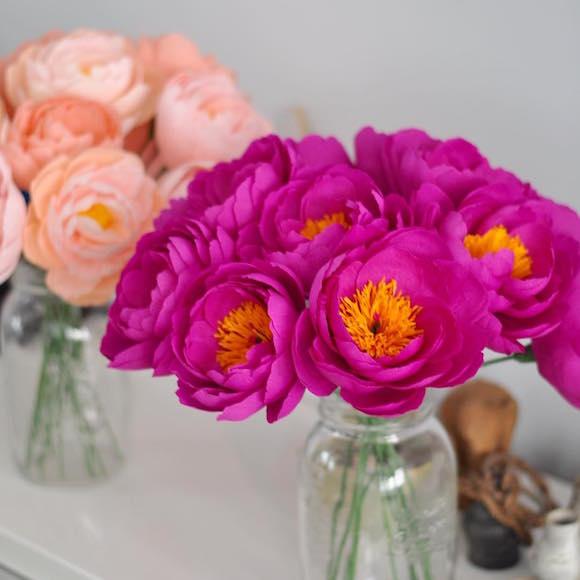 flores de papel 4