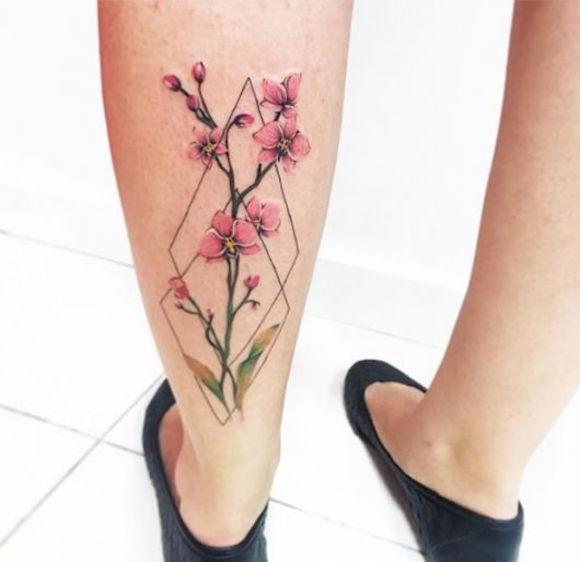 tatauagem flores 11