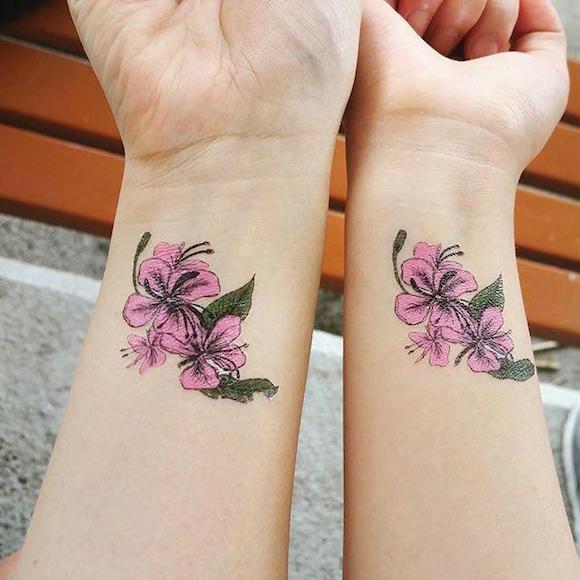 tataugem flores 18