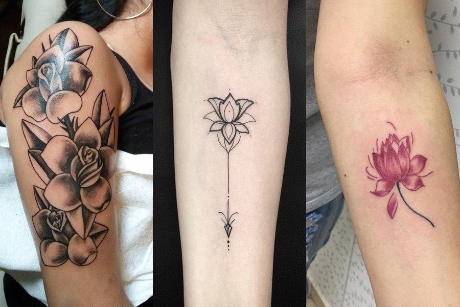 tatuagem de flores 23