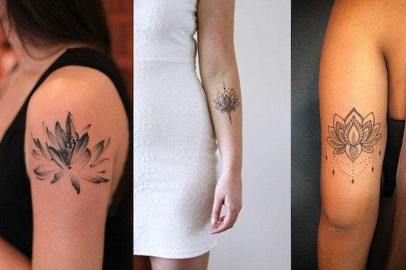 tatuagem flores 1