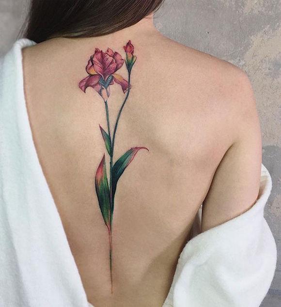 tatuagem flores 19