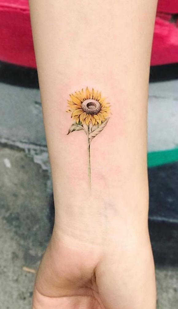 tatuagem flores 7