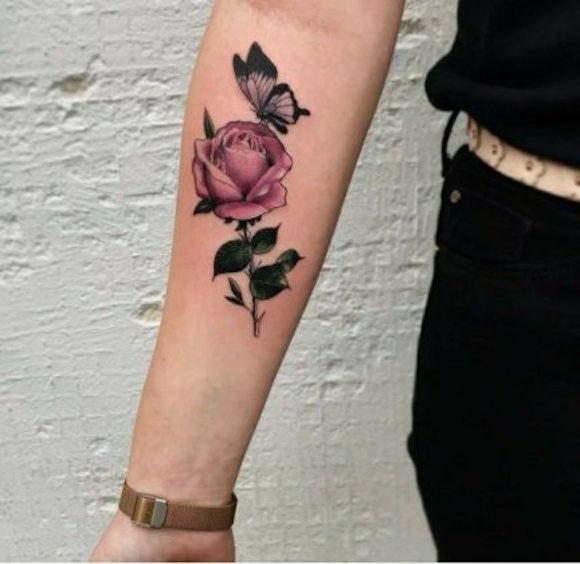 tatuagem flores 8