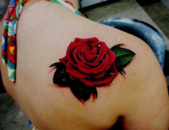 tatuagem flores 9