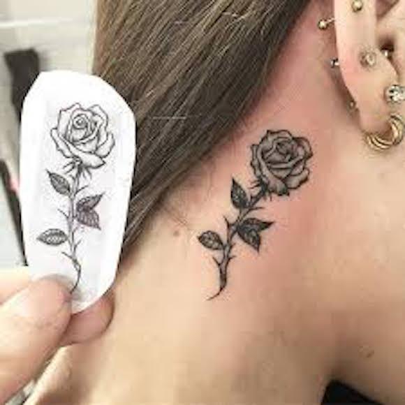 tatuagem flores