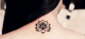 Modelos de Tatuagens de flores delicadas e femininas