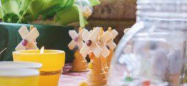 Organizar uma festa simples