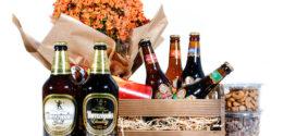 Cesta de cervejas especiais para o dia dos pais