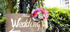 Mini Wedding (Casamento pequeno): Como organizar