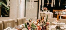 Decoração e convite de casamento Boho chique